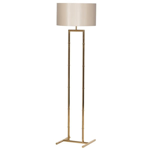 Glamourous Gold Floor Lamp & Shade
