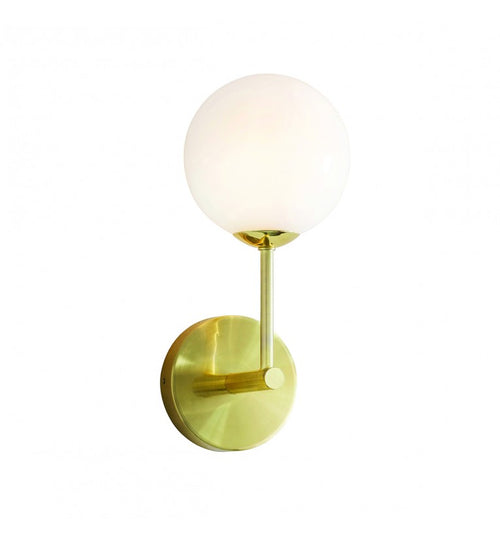 Brushed Gold Wall Light