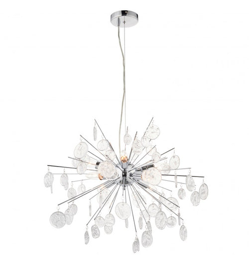 Chrome 8 Light Chandelier