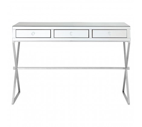 Sleek Mirrored Console / Dressing Table