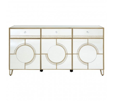 Deco Mirrored Sideboard