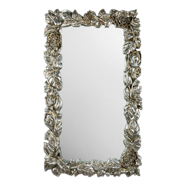 Floral Silver/Gold Wall Mirror