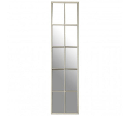 Tall 178cm Bronze Iron Window Mirror