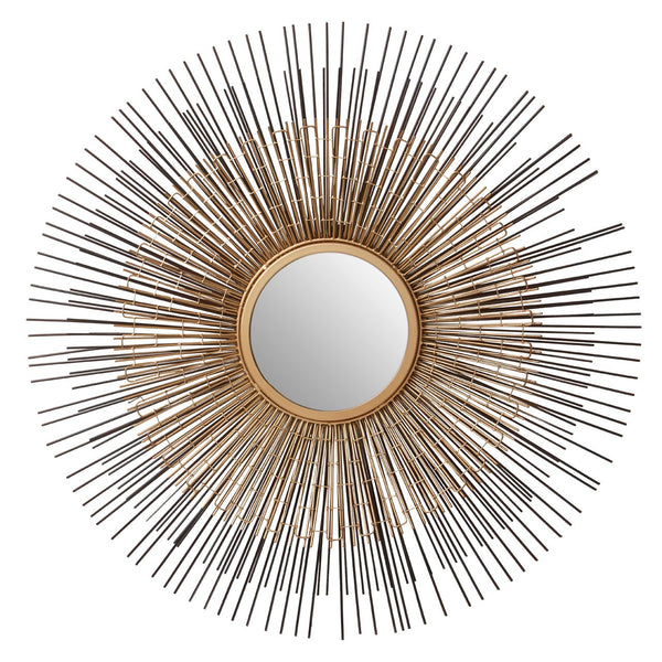 Metal Rods Sun Mirror 71 cm
