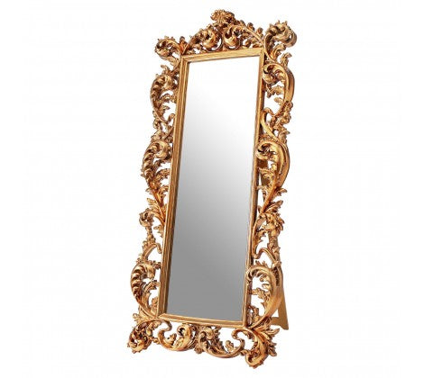 Ex. Large Gold Cheval Mirror