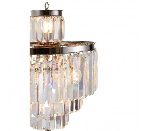 Crystal Prism Floor Lamp
