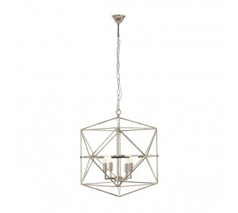Nickel Plated Lantern