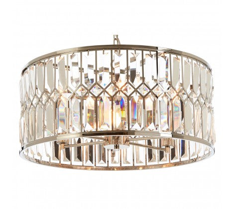 Crystal Banded Chandelier
