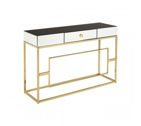 Glass and Gilt Metal Console