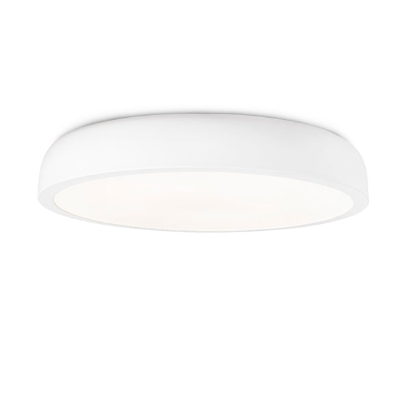 White Opal Diffuser Ceiling Lamp