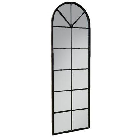 Rustic Arched Window Mirror 104 x 73