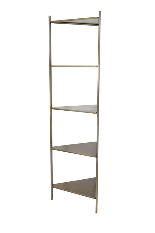 Tall Metal Corner Shelf