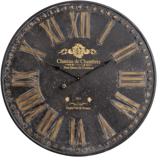 Black Wall Clock