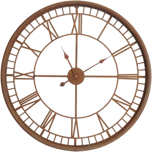 Rust Skeleton Clock
