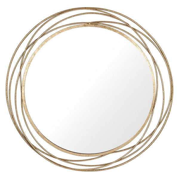 Antique Gold Swirl Mirror (90 cm)