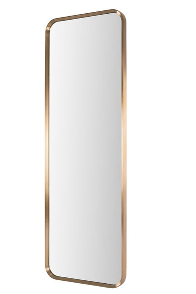 Long Brass Mirror (193 cm)
