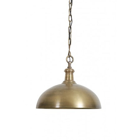 Architectual Solid Antique Brass Chandelier