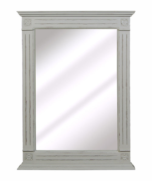 Blue/Grey Wood Mirror