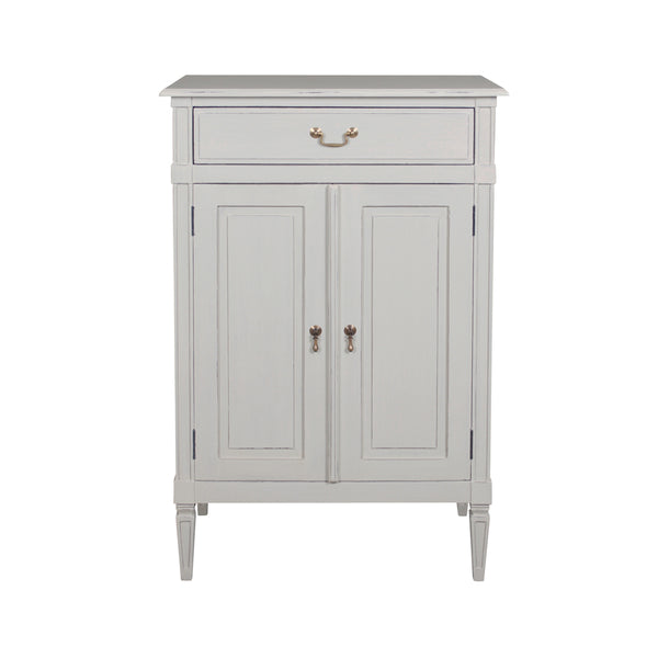 2 Door Cupboard (Putty) - Painted Top