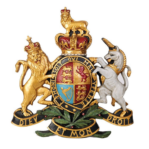 Coat of Arms Wall Plaque/Large