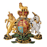 Large Coat of Arms Wall Plaque / Crest