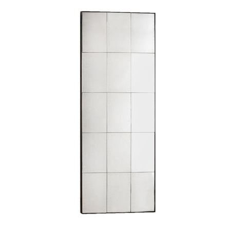 Silver Painted Window Mirror