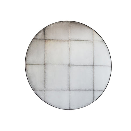 Large Round Window Mirror