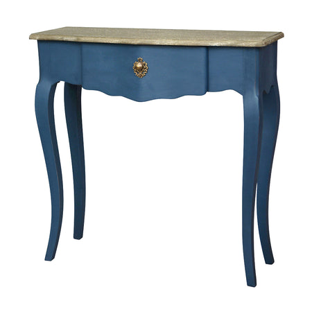 Skinny Bedside Table (26 cm wide) - Rubbed Cream