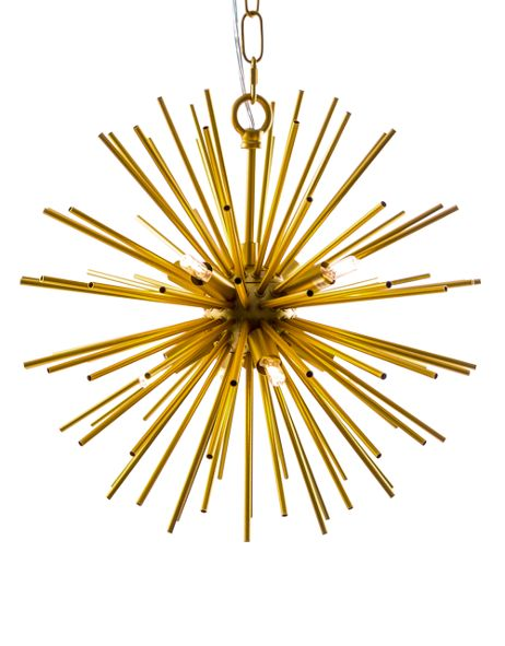 Gold Sunburst Chandelier 30cm