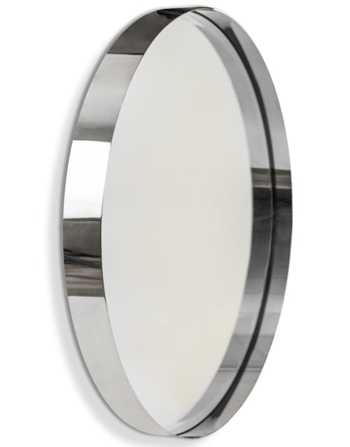 Polished Chrome Metal Mirror