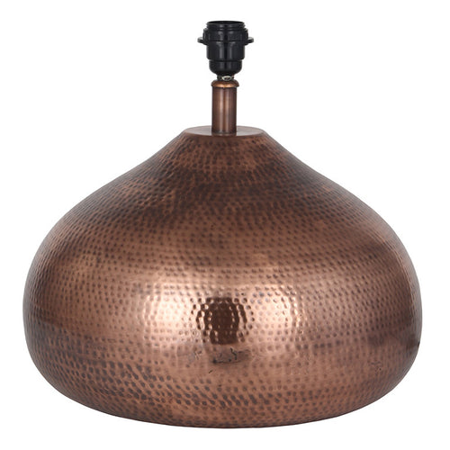 Large Copper Table Lamp