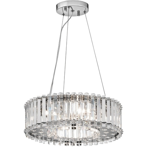 Crystal Prism Chandelier 8 Light
