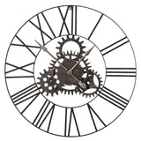 Cogs Metal Clock 36''