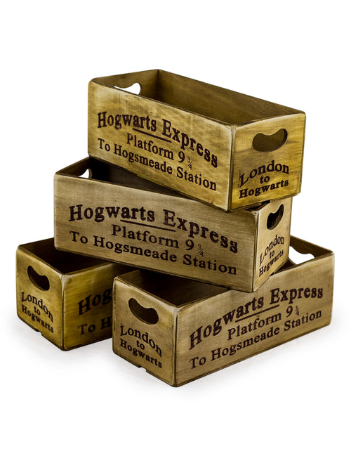Hogwarts Express Wooden Storage Crate