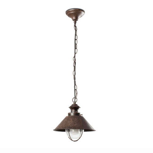 Rustic Outdoor Pendant Lamp (26cm)