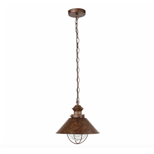 Rustic Outdoor Pendant Lamp (35cm)