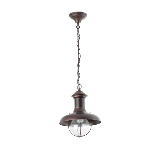 Rust Outdoor Pendant Lamp (27cm)