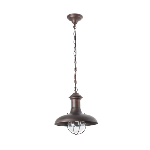 Rust Outdoor Pendant Lamp (32cm)