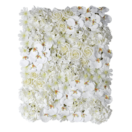 Floral Wall - White 85 x 70