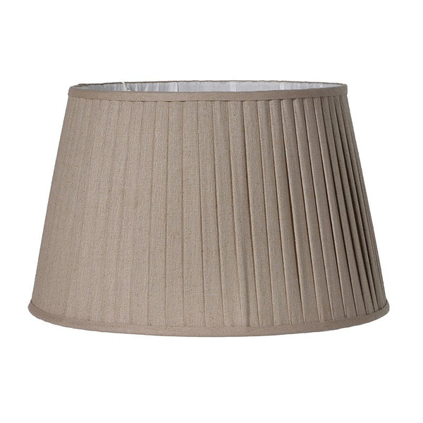 Linen Pleated Shade