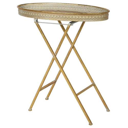Gilt Folding Table