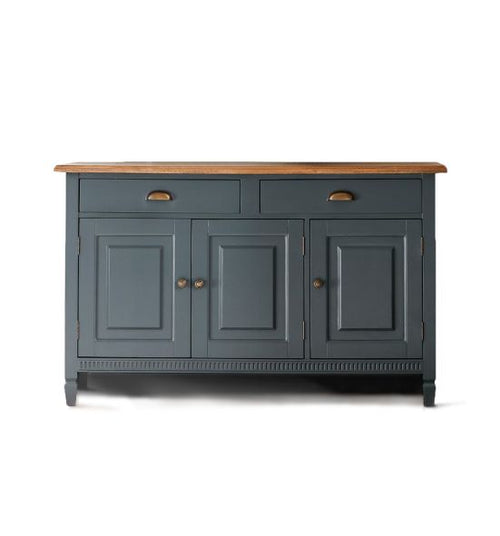 Dark Blue/Grey Sideboard 135 cm