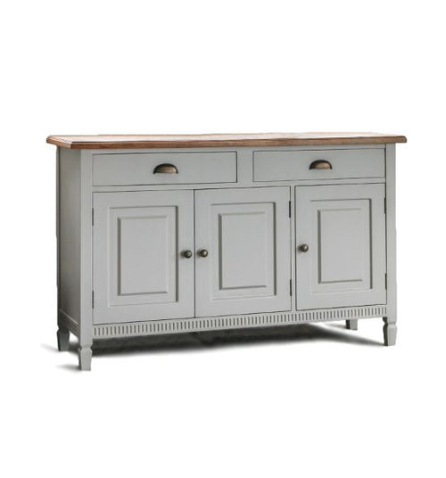 Light Grey Sideboard 135 cm