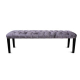 Heavenly Purple Velvet Bench