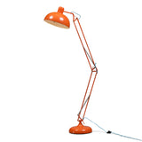 Extra Large Angled Floor Lamp - Orange