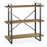 Urban Metal & Wood Shelf Unit