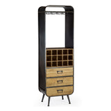 Urban Metal & Wood Bar Unit