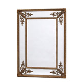 Elegant Gilt French Mirror - Gold