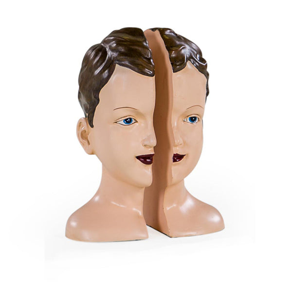 Deco Split Head Bookends
