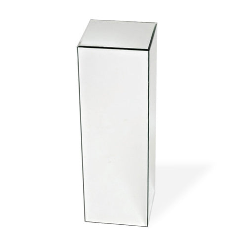 Clear/Black Glass Pedestal